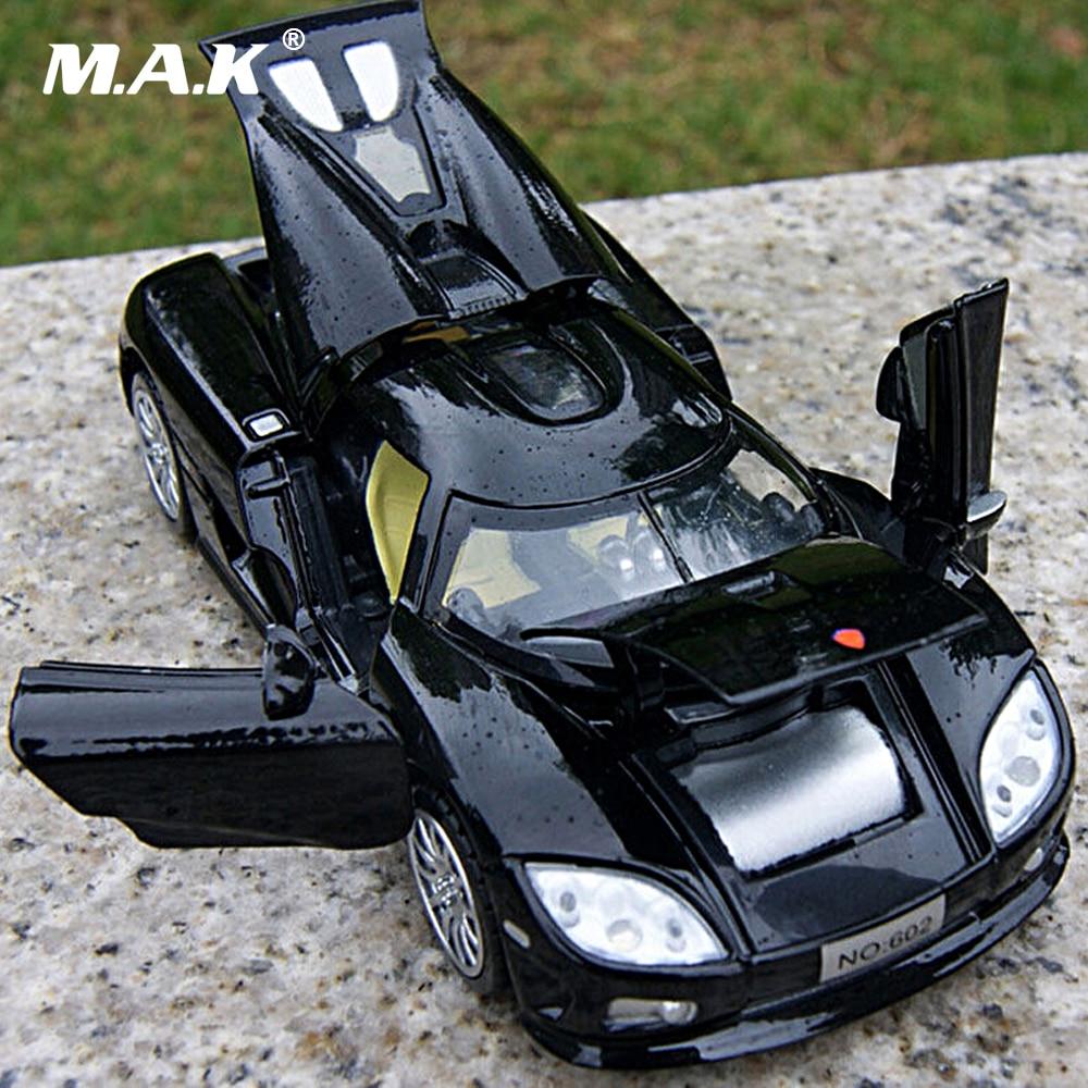 Børne Legetøj 1/32 Scale Koenigsegg Elektronisk Bil Model Legetøj Børn Samling Diecasts Med Lys Lyd Ingen sender batteri