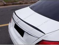 PAINT ABS CAR REAR WING TRUNK LIP SPOILER FOR 16 17 Mercedes BENZ W213 E Class E200 E300 E320 E63 2016 2017 BY EMS
