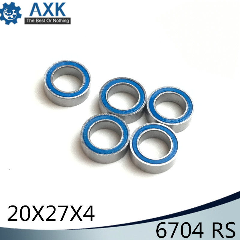 6704RS Bearing 10PCS 20x27x4 mm ABEC-3 Hobby Electric RC Car Truck 6704 RS 2RS Ball Bearings 6704-2RS Blue Sealed6704RS Bearing 10PCS 20x27x4 mm ABEC-3 Hobby Electric RC Car Truck 6704 RS 2RS Ball Bearings 6704-2RS Blue Sealed