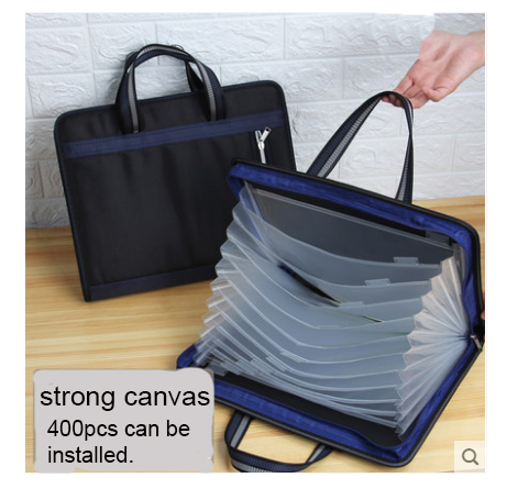 13-Layer Big Document Bag Accordion A4 Classification Test Papers Tool Business Expanding File Folders Filing Products