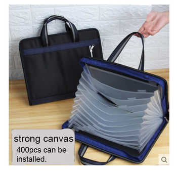 13-Layer Big Document Bag Accordion A4 Classification Test Papers Tool Business Expanding File Folders Filing Products - DISCOUNT ITEM  0% OFF All Category
