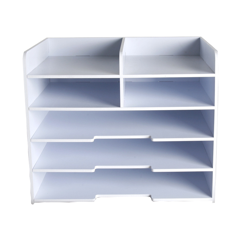 Simple File Tray Multi function File Rack Office Supplies Desktop Storage Box A4 A5 Bills Data Management Rack-in File Tray from Office & School Supplies    1