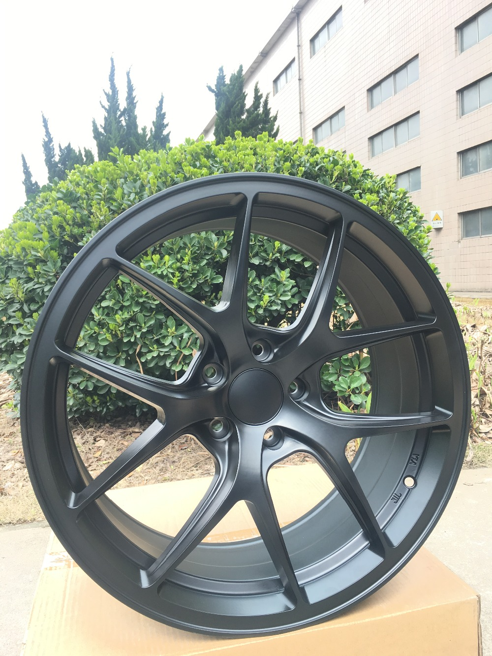 Сплав колеса Диски 4 Новый 19 Атлас Черный Диски колеса подходит всем Honda Civic 2006 2016 Honda Accord 2004 2016 W005