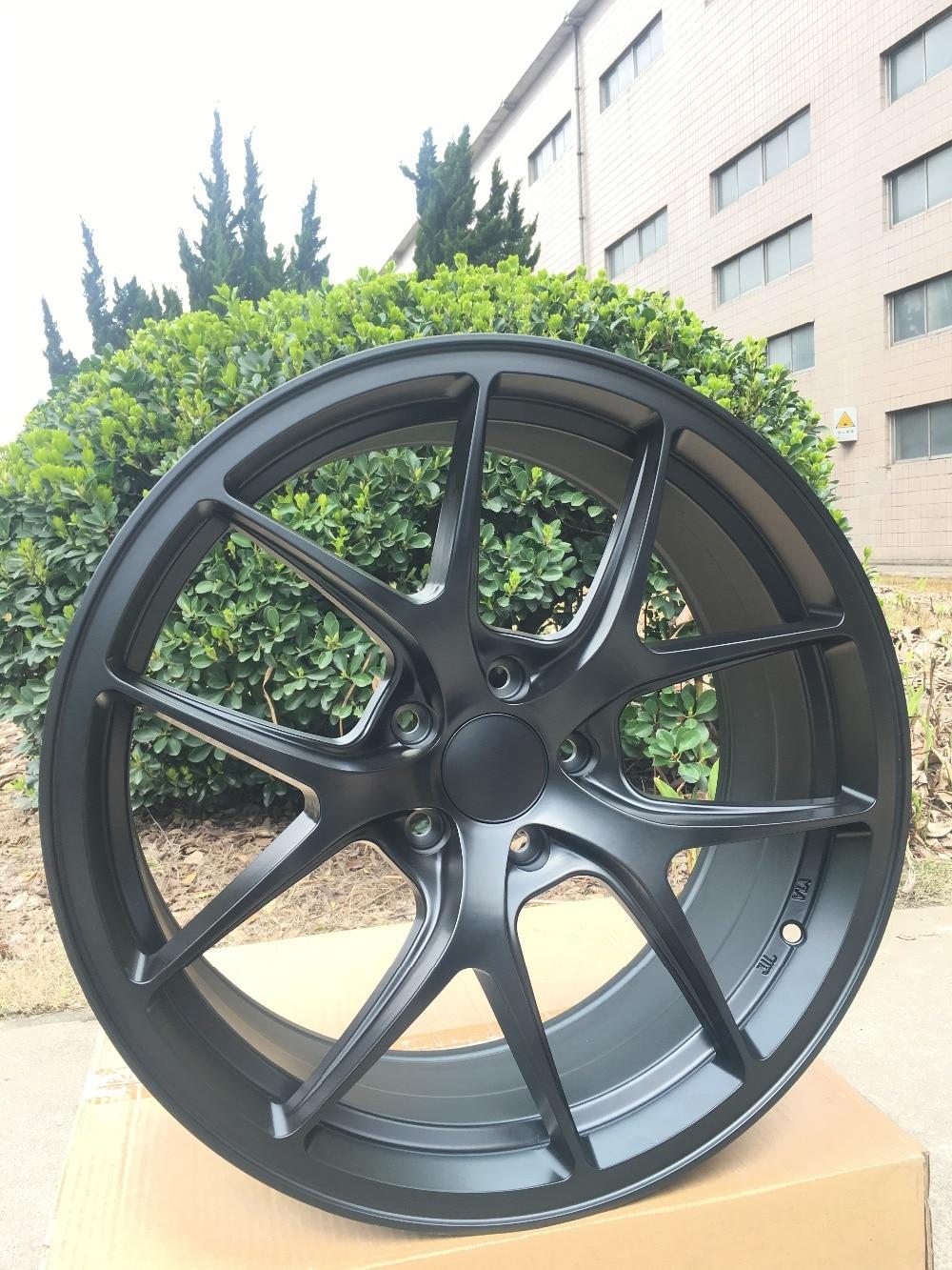 Alloy Wheel Rims 4 New 19 Satin Black Rims wheels Fits all Honda Civic 2006 2016