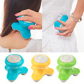 Mini Electric Handled Wave Vibrating Massager USB Battery Full Body Massage Hot Selling