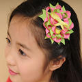 Free Shipping 36pcs  Hair Accessories With beautiful Animal Print Children Hot Sell Baby owl/characters/crab Hair bugs
