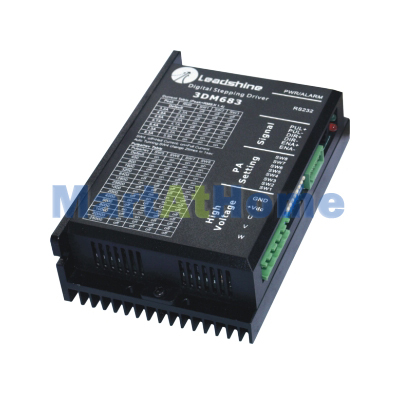цена на Leadshine 3DM683 Microstep CNC Router 200 KHz 3-Phase Stepper Motor Driver 60 VDC 0.5A to 8.3A #SM021 @SD