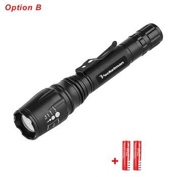 Super Φακός LED 5 Λειτουργίες Μεγέθυνση XML-T6 / L2 Ισχυρός Ελαφρύς Αδιάβροχος Σπίτι - Γραφείο - Επαγγελματικά Φακοί MSOW
