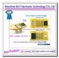 Free shipping QFN8 to DIP8 Programmer Adapter WSON8 DFN8 MLF8 to DIP8 socket for 25xxx 8x6mm 6x5mm