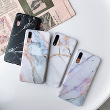 Marble Phone Case For Huawei P20 P30 Mate 20 PRO LITE Back Cover Cases on Coque Nova 2S 3 3i Matte Soft TPU Silicone