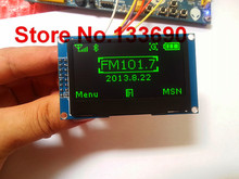 3.3v 2.42 inch Green 128x64 OLED display module OLED module 8bit 6800/8080 4 SPI serial I2C IIC Interface 16PIN SSD1309 Driver