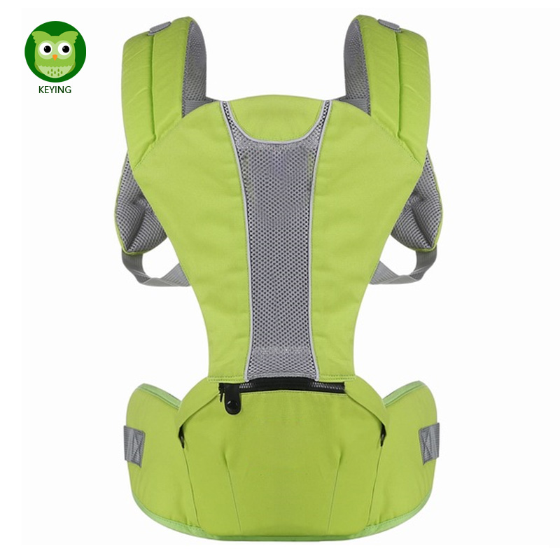 KEYING Baby Sling Wrap Ergonomic Baby Carriers Backpacks Infant Newborn Hipseat Kangaroo Baby Carrying Belt for Mom Dad