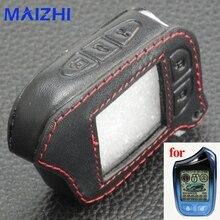5 Пуговицы кожаный чехол для Scher-Khan Magicar 13 M13 m110as авто-сигналы автосигнализации пульт дистанционного управления ЖК-дисплей брелок крышка