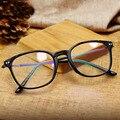 Rodada Projeto TR90 Vidros Ópticos Miopia Do Vintage Óculos Oculos de grau Óculos Armações de Óculos de Olho Para As Mulheres Homens