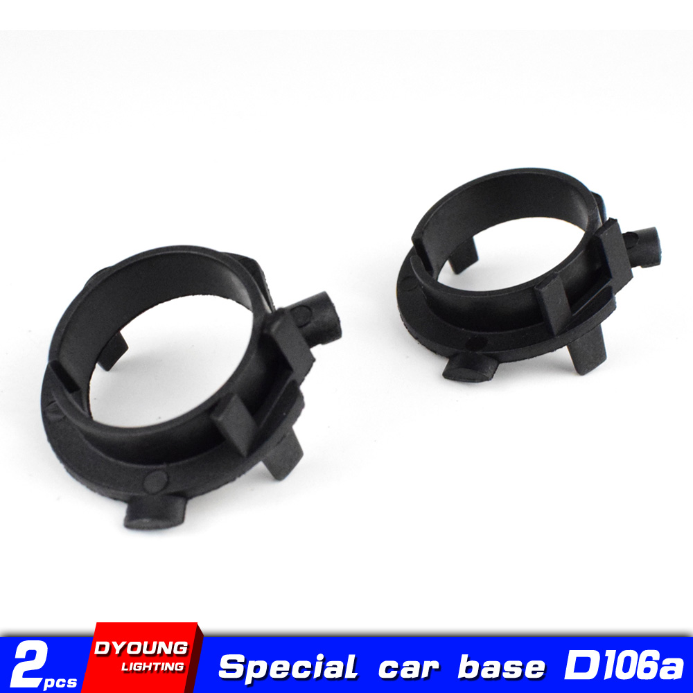 Dyoung 2pcs D106a H7 Base Car Accessories H7 Bulb Socket For Hyundai Nissan Kia Sportage K3 K4 K5 Sorento Grand SantaFe Ge Rui