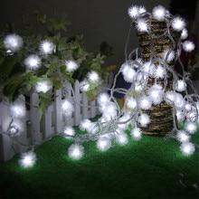 10m 100LED Dandelion Light String Outdoor Waterproof Garden Fairy Lights String Wedding Christmas Lighting Decoration