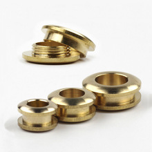 2pcs Solid Brass screw back Eyelets with washer grommets Leather Craft accessory for bag garment shoe clothes jeans decoration