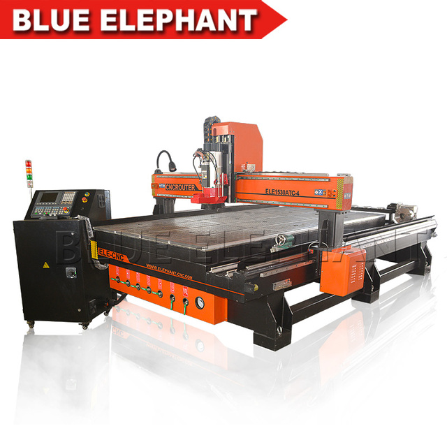 Ele All In One Woodworking Machine 4 Axis 1530 Cnc Router Machine