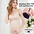 2016 майка Женщины материнства бюстгальтер для кормления топ грудное вскармливание насосных одежда беременность одежда для беременных бретели