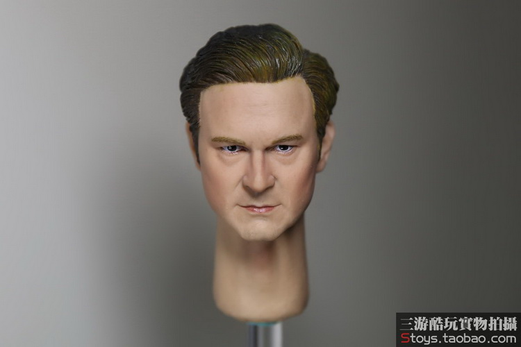 1/6 figure doll head shape for 12 action figure doll accessories Colin Firth Kingsman male Head carved not include body,clothes colin beveridge numeracy tests for dummies
