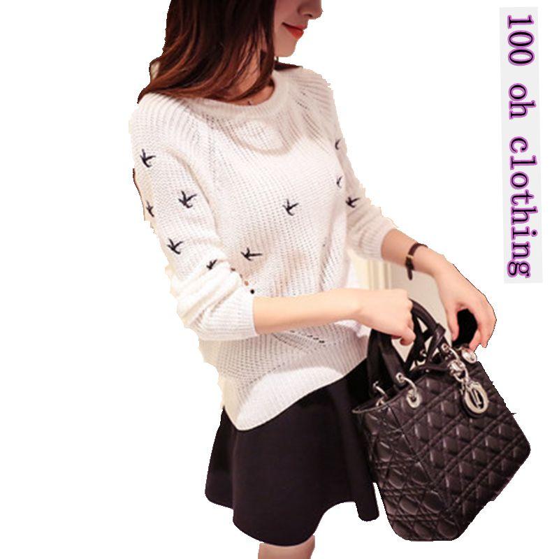 2018 새로운 가을 겨울 패션 여성 스웨터 고품질 - 여성 의류