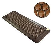 2018 самые популярные натуральный нагрев Турмалин коврики для термального массажа тепла подушки массаж деревьев здоровье и гигиена 50*150 см
