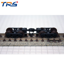 2pcs N Scale Bogie Simulation Train Model Toy Accessories 1/150 Wheels