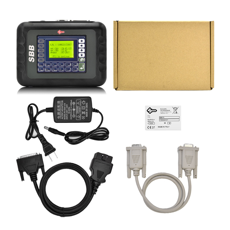 DHL Free 2017 New Slica SBB Key Programmer SBB V33.02 Multi-language Auto Car SBB Key Programmer
