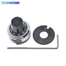 WXD3-13 3590S Potentiometer Precise Dial knob lockable Hat 4mm 6mm 6.35mm 10 Turns Adjustable Potentiometer Cap New Original