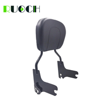RUOCH Motorcycle Accessorie Sissy Bar Backrest for Harley Touring Road King Street Glide Back Rest Pad 1997-2008