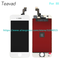 20Pcs Lot High Quality LCD Display Screen With Touch Screen Digitizer Assembly For Iphone 5 5G