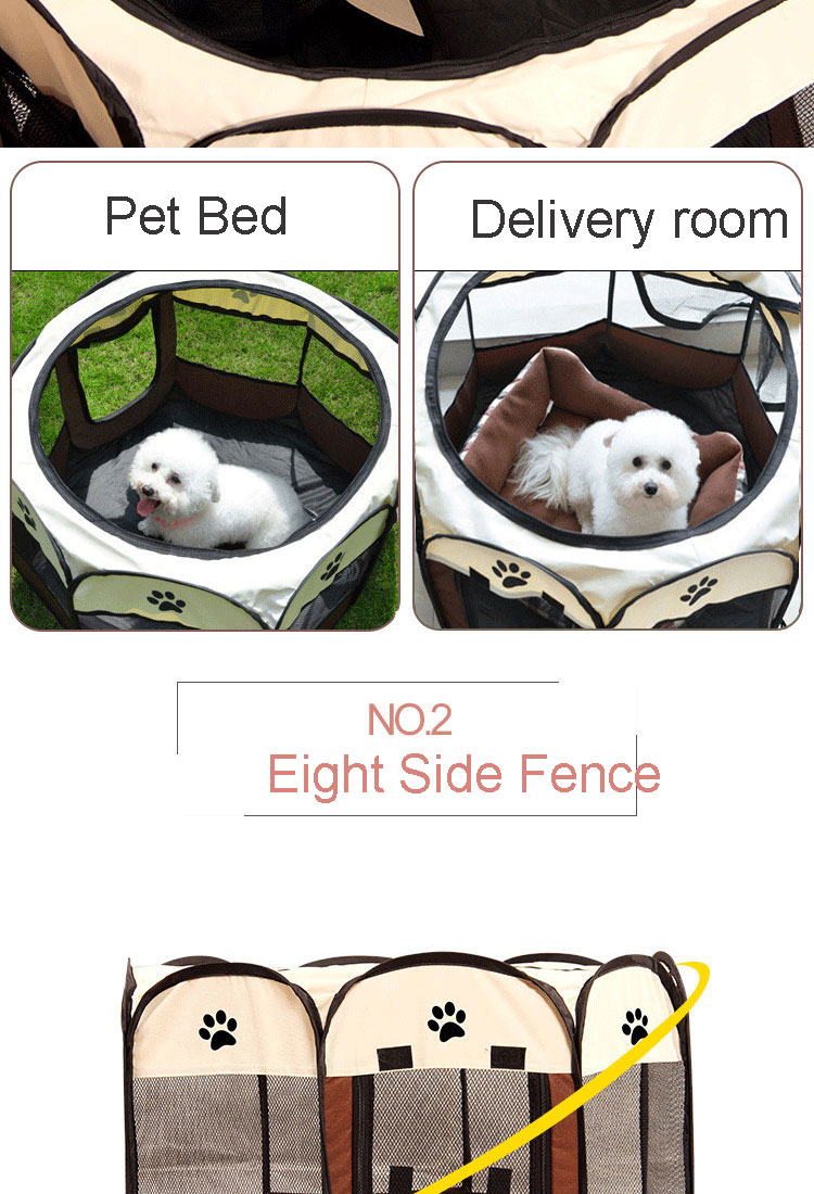 Portable Travel Pet House Tent Removable Cozy House | DogsMall-International