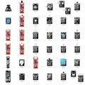 37 módulos de Alta Qualidade por atacado 37 em 1 conjunto de sensores kit sensor de UNO starter kit para arduino DIY Kit Livre grátis