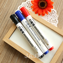 10pcs Lot Whiteboard Marker Pen 3 Colors Markers For White Board Easy Erasing Office Material