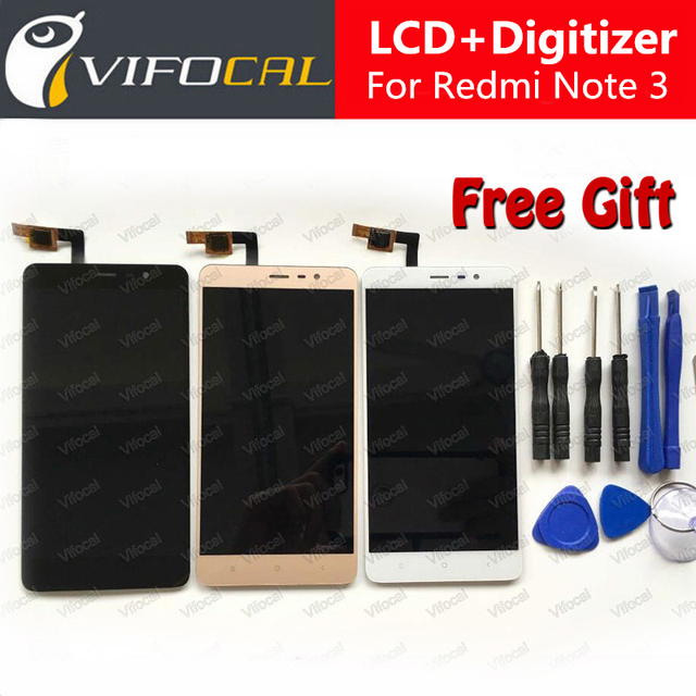 For Xiaomi Redmi Note 3 LCD Display Touch Screen 5.5inch 1920X1080 FHD Digitizer Assembly Replacement For Pro/Prime 150mm