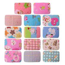 1pcs 25*35 Changing Pads Covers Reusable Baby Diapers Mattress for Newborns Waterproof Sheet Mat