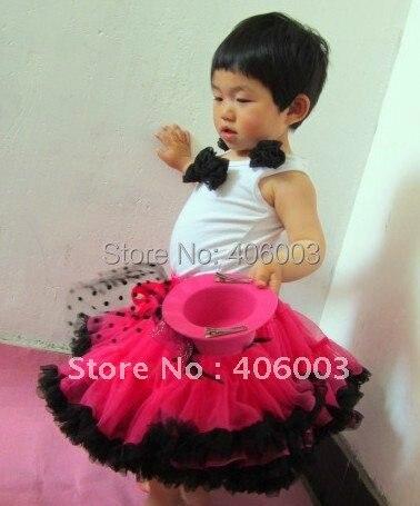 На складе Бесплатная доставка оптовых нейлон пушистый дня рождения pettiskirt юбки новорожденных девочек юбки
