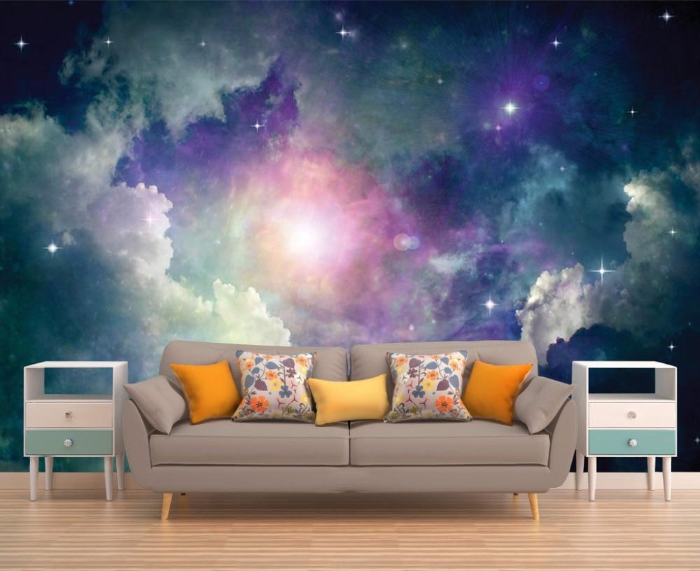 Aliexpress.com : Buy Custom Size 3D Photo Mural Galaxy