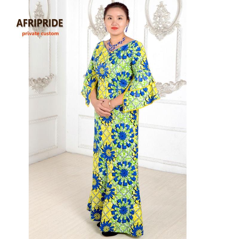 klassisk afrikansk klær for kvinner todelt dress avrikansk - Nasjonale klær - Bilde 2