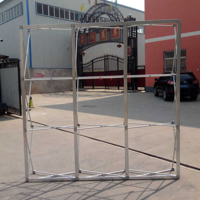 Exhibition Stand Frame : Detail feedback questions about aluminum flower wall folding stand