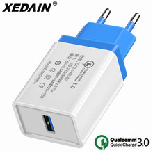 цена на EU/US Quick Charger 5V/3.5A QC 3.0 USB Phone Charger Wall Fast Charger Cable for iphone plus Apple Samsung Huawei Xiaomi Android