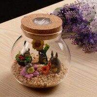 Multi Function LED Light Moss Ecological Bottle Micro Landscape Jar Can Bring Light Plant Ecological Bottle