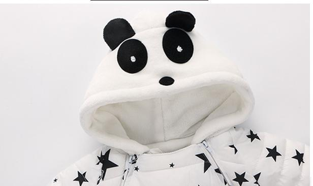 2019 New Baby Winter Out Wear Clothes Hoodie Long Sleeved Down Jacket 1-2y Baby Boys Girls Autumn Rompers Windproof  Jumpsuit
