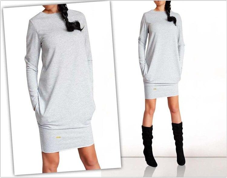 Теплые модные женские платья оптом