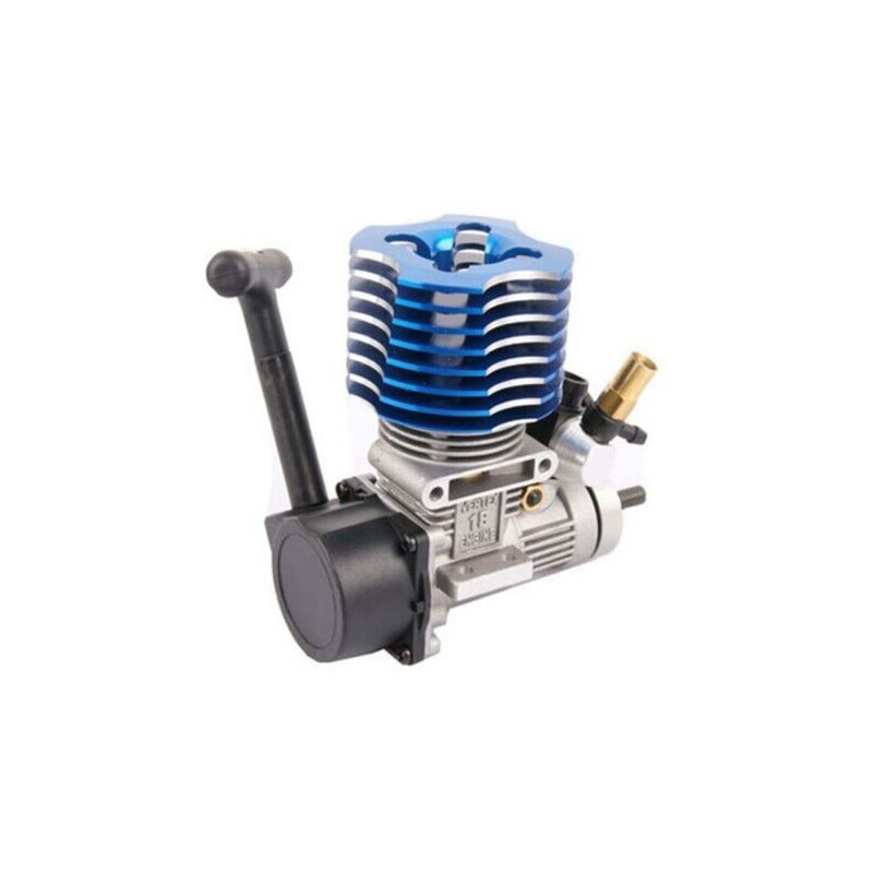 HSP 02060 BL VX 18 Engine 2.74cc Pull Starter blue for RC 1/10 Nitro Car Buggy EG630 двигатель super tigre 18 nitro купить