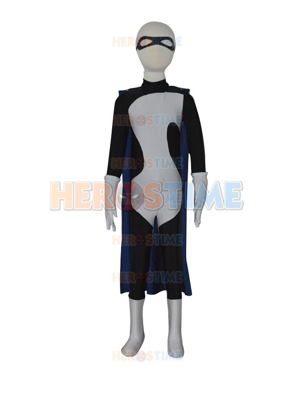 The Incredibles Syndrome Buddy Pine Custom Kids Superhero Cosplay Costume Halloween Zentai Suit with Cape