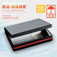Фокус сигарета коробка зажигалки ветрозащитный зажигалка держатель для табака случае плазменной дуги Зажигалка роскошный дым подарки для мужчин