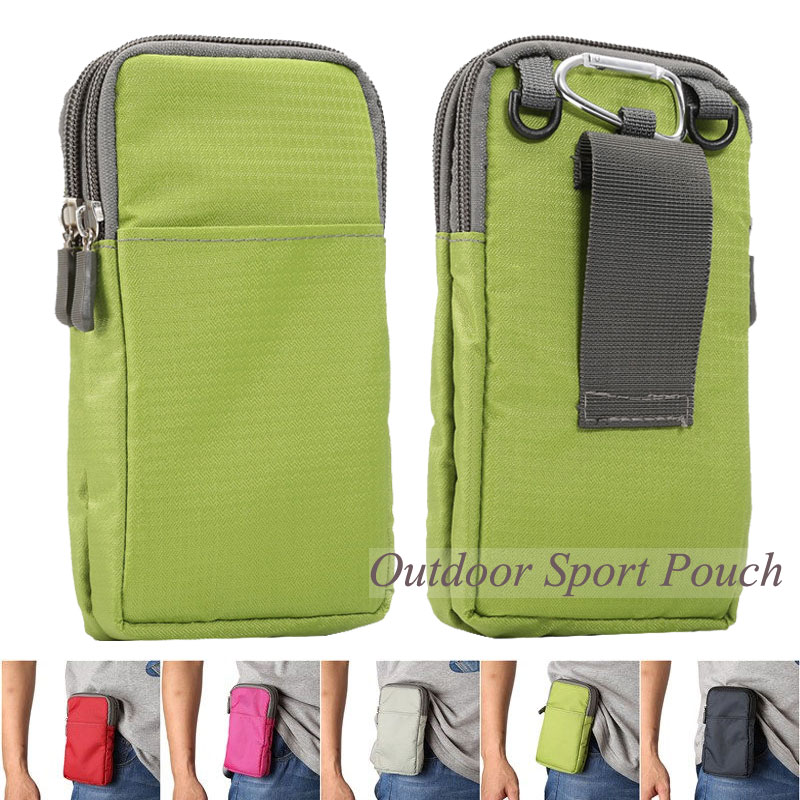 NEW Outdoor Sports Phone Pouch Wallet Belt Clip Bag for LG G4/Xiaomi Mi4c/htc one m8/letv/nokia/moto/meizu Below 6.0 inch Case