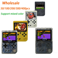 Wholesale 50/100/200/300/400pcs Coolbaby RS-6A Retro Portable Mini Handheld Game Console 8-Bit 3.0 Inch Built-in 168 games