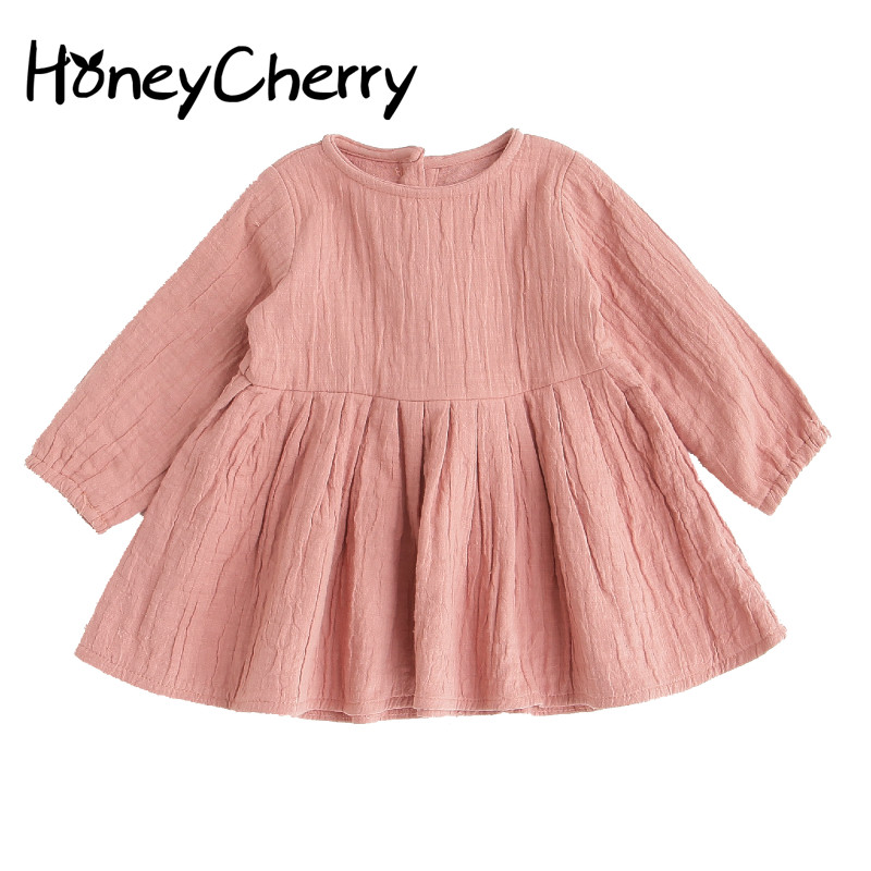The New Girl Dress Princess dress Cotton Infant Children Girls Dresses For Party And Wedding Baby Girl Clothes new year gift for girls dresses kids dress children clothes infant costume girl wedding party baby girl princess flower dress
